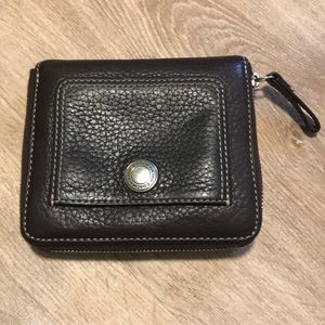 Coach Bags - Coach Soft Pebble Leather Zip Around Wallets